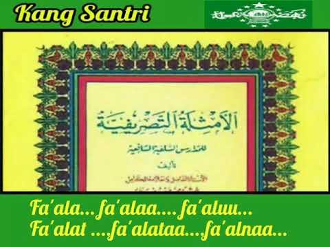 Nadzom Tashrifiyyah Lirik karya kang Santri , Ajib banget...