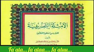 Download Mp3 Nadzom Tashrifiyyah Lirik Karya Kang Santri , Ajib Banget...