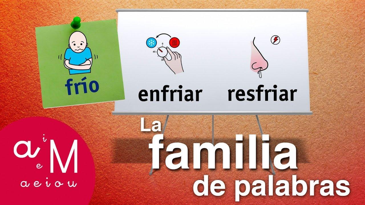 La Eduteca La Familia De Palabras Youtube