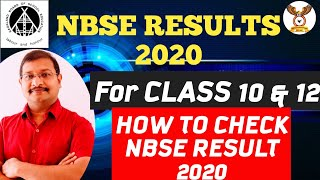 NBSE RESULT 2020| HOW TO CHECK NBSE RESULTS . NBSE RESULTS for class 10 . NBSE RESULTS for class 12