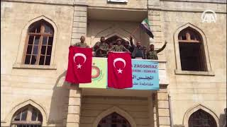 Türkische Armee befreit Afrin Turkish army take Afrin Afrin deki Mehmetçik ten 18 Mart mesajı