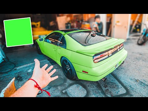 TT Nissan 300ZX EXOTIC Paint Color REVEAL!!  (One Of A Kind)
