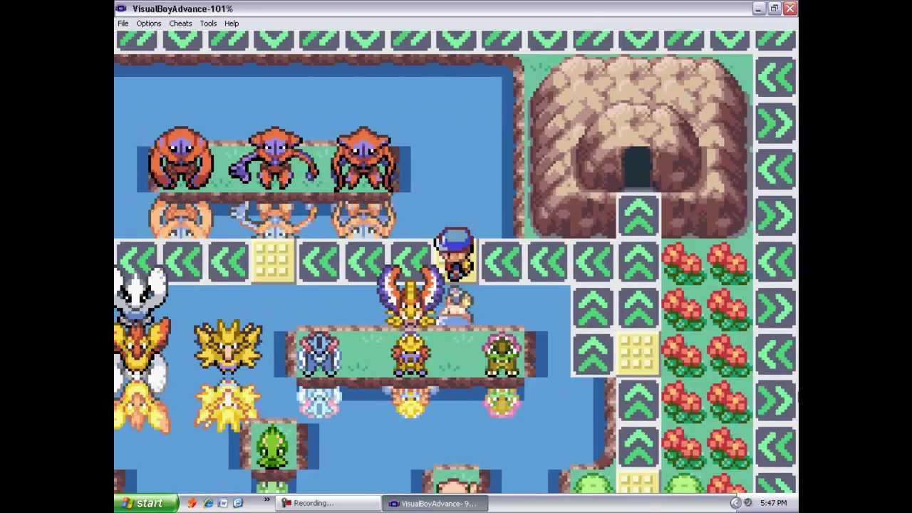 pokemon fire red clean rom