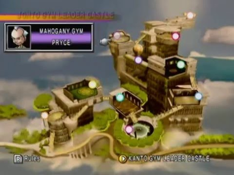 008 Pokemon Stadium 2 100 Als Only Gym Leader Castle Mahogany
