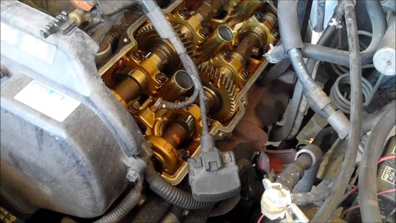 1999 Toyota Taa Valve Cover Gasket Replacement  34L V6  YouTube