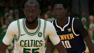 NBA 2K19 Tacko Fall My Career Ep. 23 - NBA Finals vs Bol Bol!