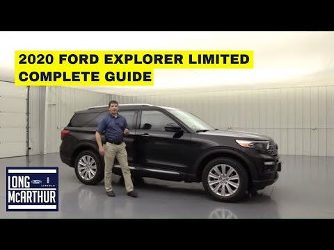 2020 FORD EXPLORER LIMITED COMPLETE GUIDE STANDARD AND OPTIONAL EQUIPMENT