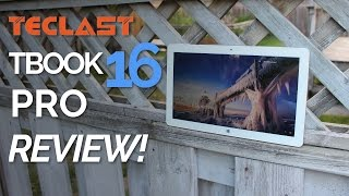 Teclast Tbook 16 Pro Review! The Pro version of the Tbook 16s
