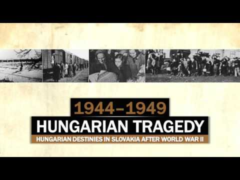Hungarian tragedy: Hungarian destinies in Slovakia (1944-1949)