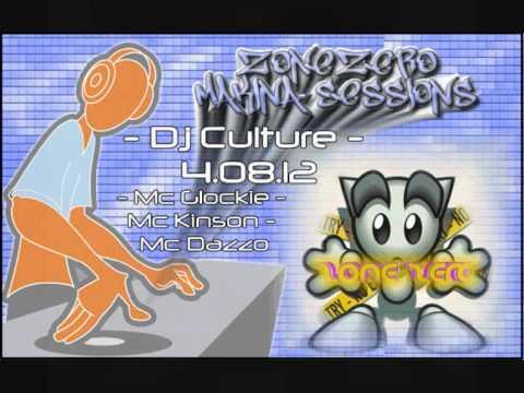 Zone Zero Glasgow - Dj Culture - Mc Glockie - Mc Kinson - Mc Dazzo 04.08.12