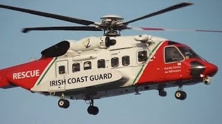 Irish Coast Guard Helicopter - Sikorsky S-92