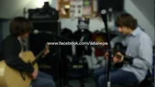 Senses Fail - The Ground Folds Acoustic (Cover by ADALIE)