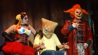 HHN25 Halloween Horror Nights Jack The Clown - The Carnage Returns 2015 Full Show