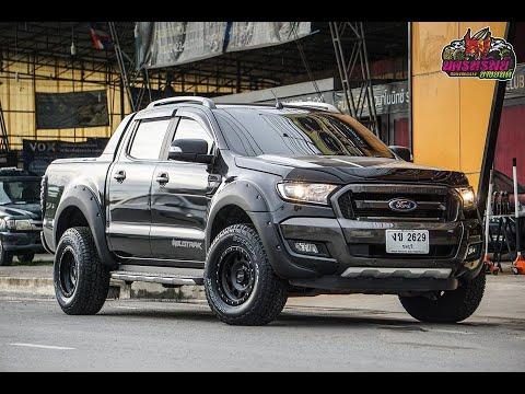 #Ford #Ranger ล้อ Hammer 16x8 Et0 ยาง Hankook ATM 265/70/16