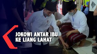 Gambar cover Pengabdian Jokowi Antar Jenazah Ibu Sampai ke Liang Lahat