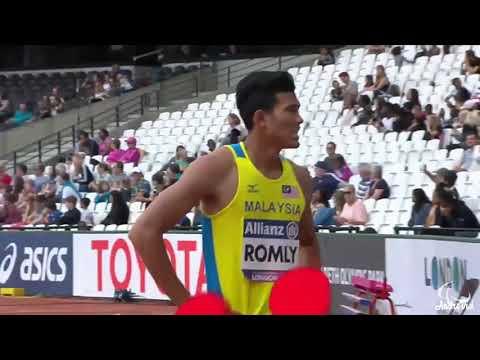 latif Romly menang emas London 2017