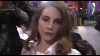 Lana Del Rey KISSES a lucky fan