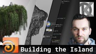 Building the main island with VEX in Houdini |Floating Island Series #1