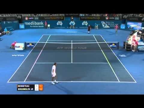 Julien Benneteau v Alex Bogomolov Jr. - Men's Singles Quarter Final: Sydney International 2012