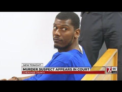 Gaffney murder suspect appears in court