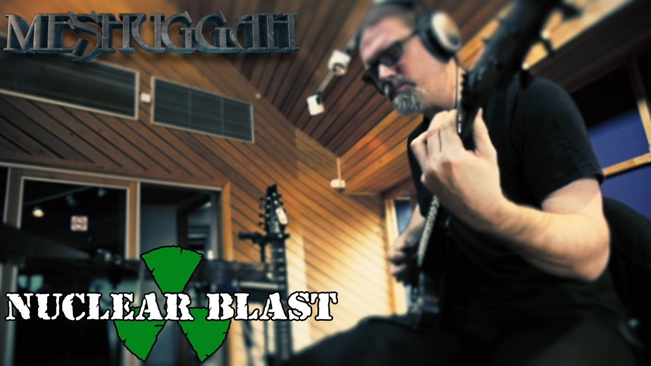 Download MESHUGGAH - Recording at Puk Studios: The Violent Sleep of Reason (INTERVIEW)