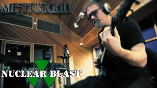 meshuggah recording at puk studios the violent sleep of reason interview