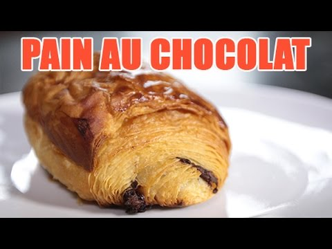 recette du pain au chocolat viennoiseries facile youtube. Black Bedroom Furniture Sets. Home Design Ideas