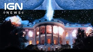 Will Smith Reacts to His Independence Day Character's Fate - IGN News