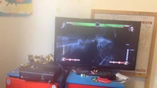 Mortal kombat 9 knight wolf/kenshi glitch