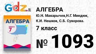 № 1093- Алгебра 7 класс Макарычев