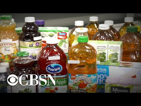 Fruit juice samples found to contain traces of heavy metals