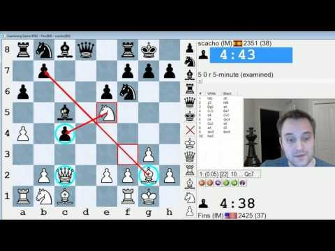 Blitz Chess #415: IM Bartholomew vs. IM scacho (Catalan Opening)
