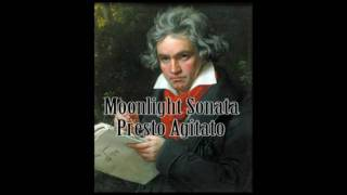 Ludwig van Beethoven - Moonlight Sonata (Presto Agitato)