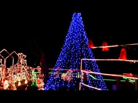 Christmas Lights 2011 at 1104 Ridgeway Drive Killeen, Texas