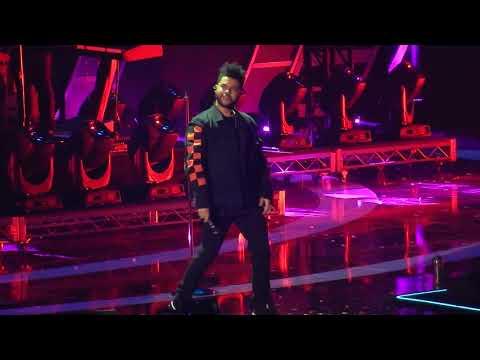 The Weeknd- I Feel It Comin' (iHeartRadio Music Festival '17)