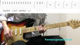 【テレキャスター・ストライプ(リードギターTAB譜付き)】〜テンポ遅めなので練習用にどうぞ〜 thumbnail