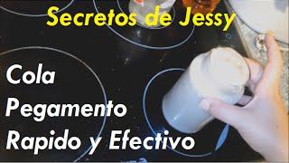 Como hacer Cola Casera efectiva I Pegamento Casero Rápido y Fuerte [FÁCIL - ECONÓMICO]