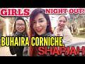 U.A.E. VLOG #9: Exploring BUHAIRA CORNICHE, SHARJAH - A GIRLS NIGHT OUT (December 2017)