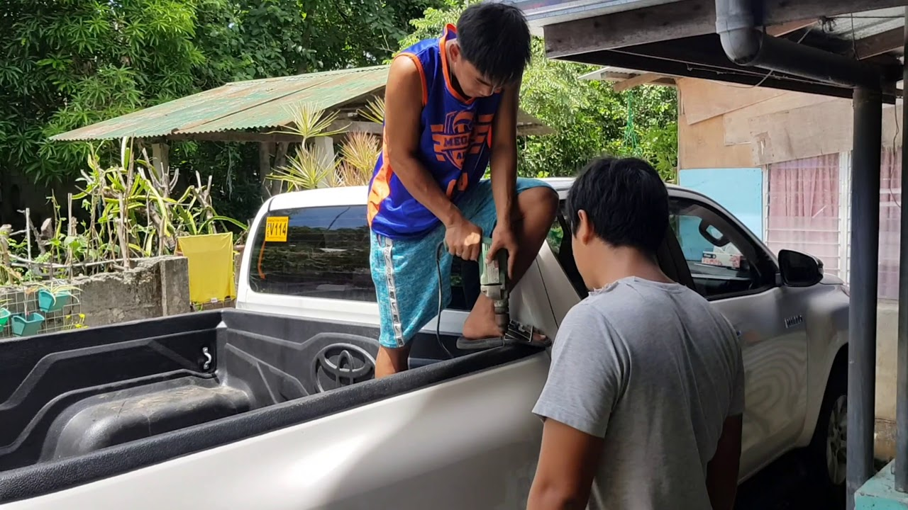 Customized Roll Bar for Hilux, Mura lang po!   Recuerdos