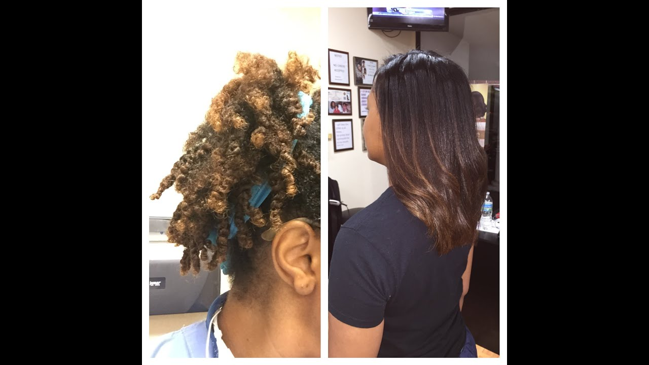 How To Properly Straighten Your Natural Hair While ...
