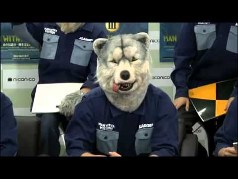 【MAN WITH A MISSION】狼大全集III 発売記念特別番組 その1