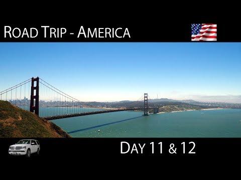 USA Road Trip - Lake Tahoe ¦ San Francisco (4K)
