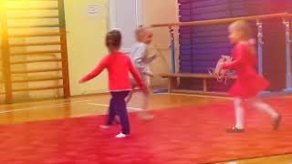 Открытый урок по художественной гимнастики