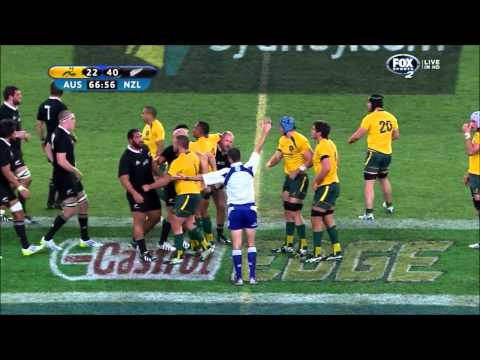 Craig Joubert penalises scrum feeds 4 times in first match under new laws