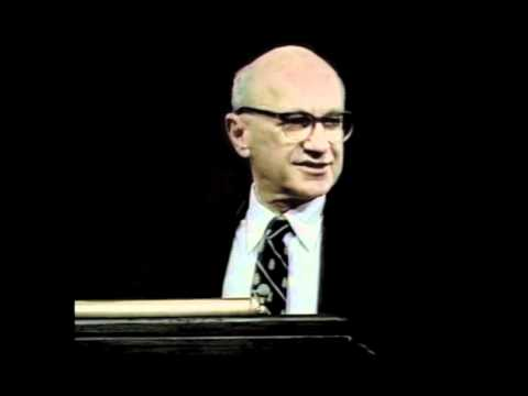 Milton Friedman - The Proper Role of Government