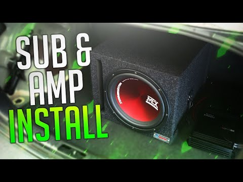 how-to-install-a-subwoofer-&-amp-easy!