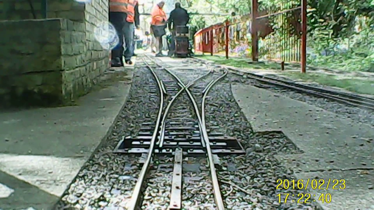 Full circuit of the 7 1/4 inch gauge track at MDSME