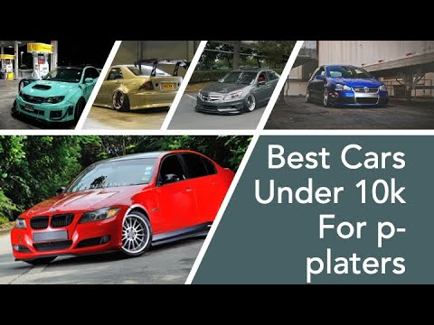 Top 5 Cars Under 10k For P-platers
