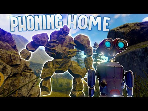 Phoning Home | A Robot Crash Lands on a Monstrous Alien World! | Phoning Home Gameplay Part 1