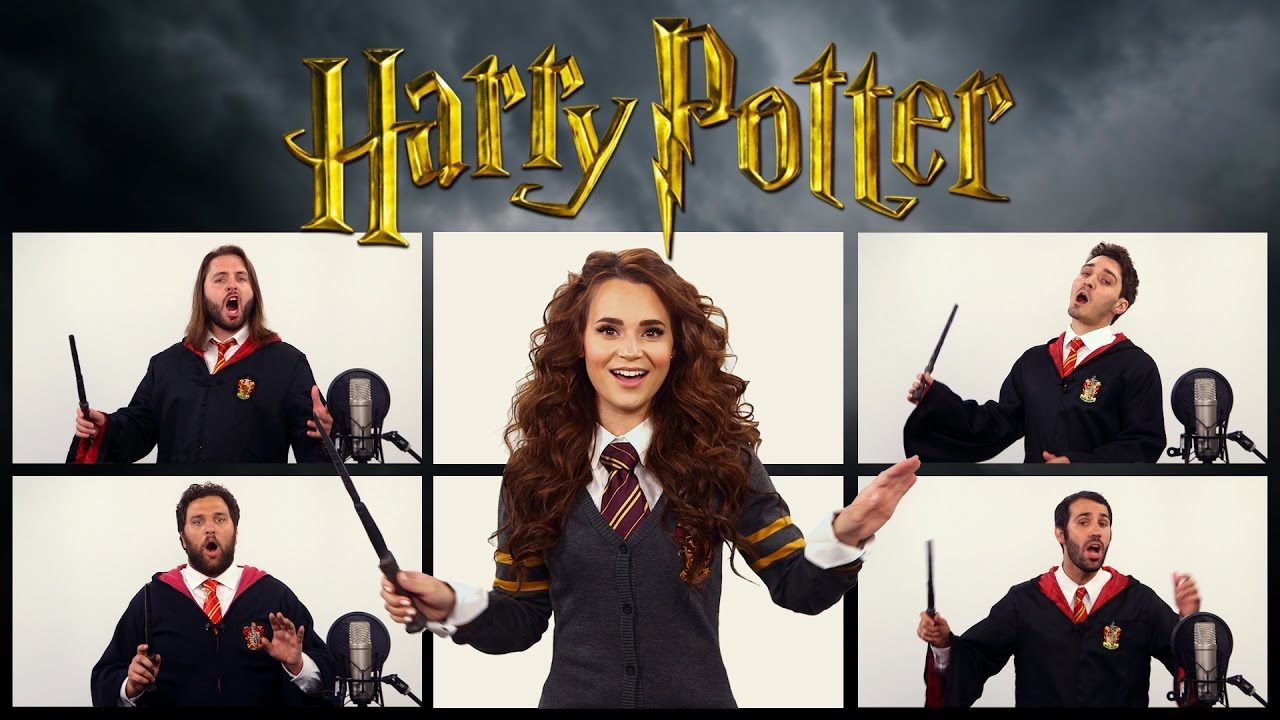 harry potter theme song acapella ft rosanna pansino youtube. Black Bedroom Furniture Sets. Home Design Ideas